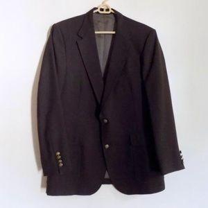 Imperial by Haggar Vintage Brown Sport Coat Sz 42